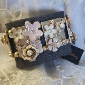 Floral stretch bracelet - Cookie Lee
